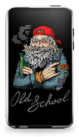 Наклейка на iPod Touch 3 - Old School