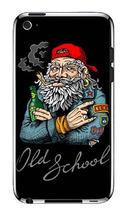 Наклейка на iPod Touch 4 - Old School