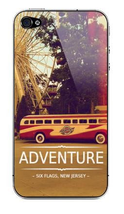 Наклейка на iPhone 4S, 4 - Adventure