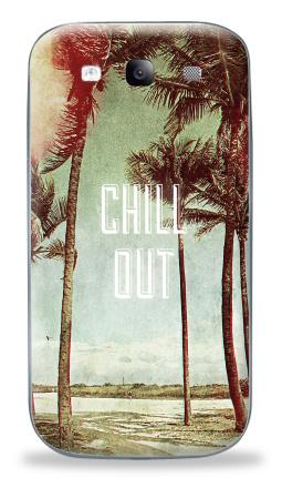 Наклейка на Galaxy S3 (i9300) - Chil! Out