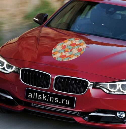 Осенняя романтика - наклейки на авто