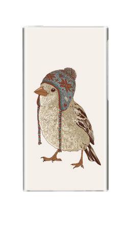 Наклейка на iPod nano  7th gen. - Птица в шапке