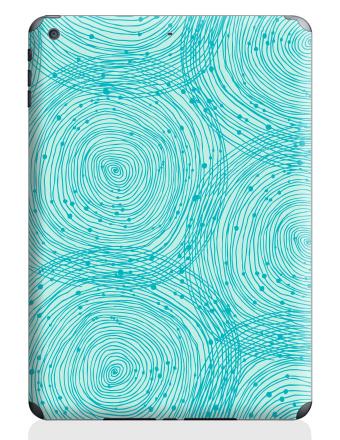 iPad Air 2, Бирюзовый абстрактный орнамент