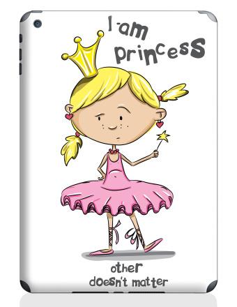 iPad Air 2, I'm princess