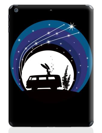 Наклейка на планшеты - iPad Air - Night Scene