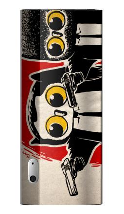 Наклейка на iPod nano 5 - Надо было взять дробовики.