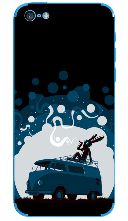 Наклейка на iPhone 5C - Night Scene '11