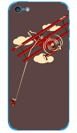 Наклейка на iPhone 5C - Pilot