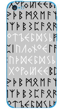 Наклейка на iPhone 5C - Руны