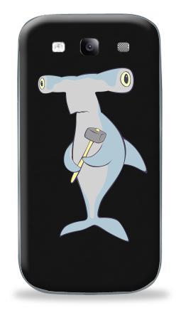 Наклейка на Galaxy S3 (i9300) - Hammerhead