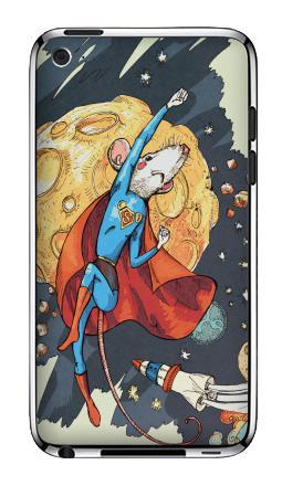 Наклейка на iPod Touch 4 - СуперМышь
