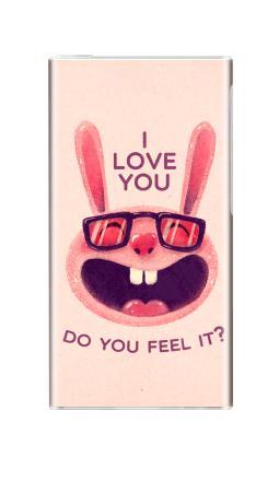 Наклейка на iPod nano  7th gen. - Влюбленный зая