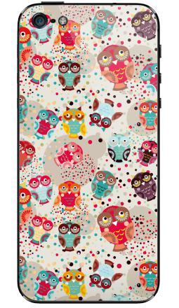 Наклейки для iPhone 5 Owls owls 3