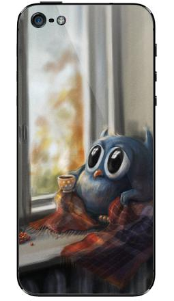 Наклейка на iPhone 5 - Vanilla Owl