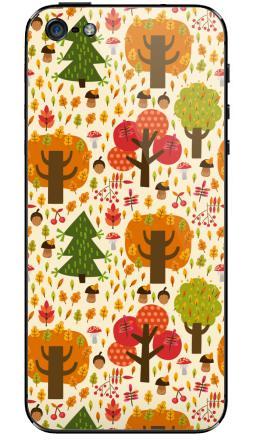 Наклейка на iPhone 5 - Autumn