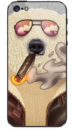 Наклейка на iPhone 5 - Bearrr