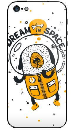Наклейки для iPhone 5 Dream in space