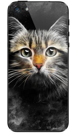 Наклейка на iPhone 5 - Кот