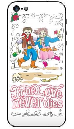 Наклейка на iPhone 5 - Love