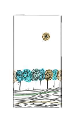 Наклейка на iPod nano  7th gen. - Деревья. графика