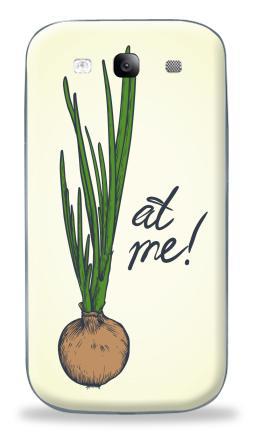 Наклейка на Galaxy S3 (i9300) - Лук ат ми