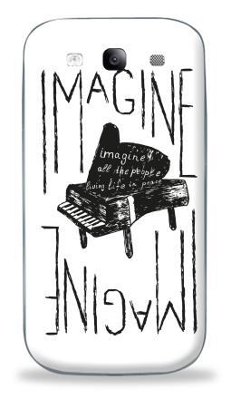 Наклейка на Galaxy S3 (i9300) - Представь себе