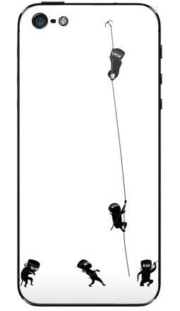 Наклейка на iPhone 5 - Ninja
