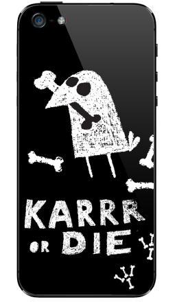Наклейка на iPhone 5 - Deadcrow