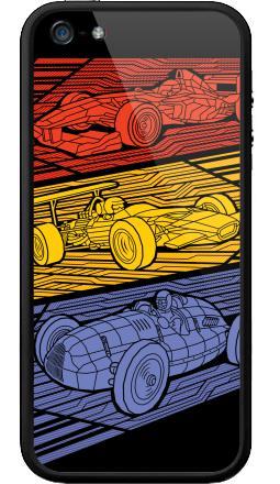Наклейка на Бампер на iPhone 5, 5S - Grand Prix Legends