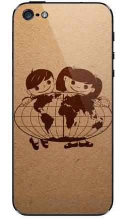 Наклейка на iPhone 5 - Из детства...