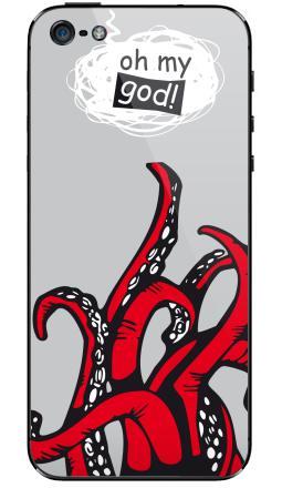 Наклейки для iPhone 5 Oh my god ? ! ...