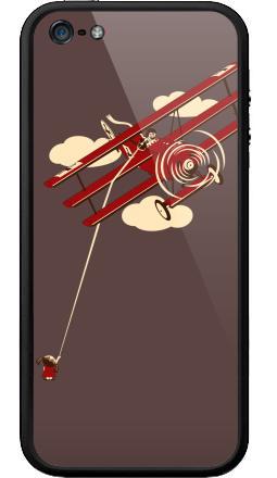 Наклейка на Бампер на iPhone 5, 5S - Pilot