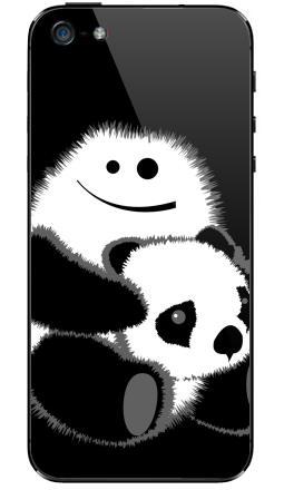 Наклейка на iPhone 5 - Привет!