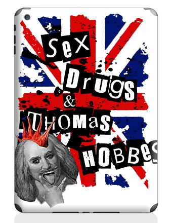 SEX DRUGS THOMAS HOBBES - Наклейки на iPad Air