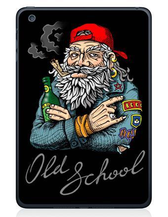 Наклейка на планшеты - iPad Mini 1/2/3 - Old School