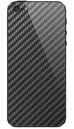 Наклейка на iPhone 5 - Carbon Fiber Texture