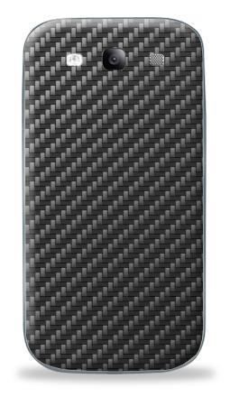 Наклейка на Galaxy S3 (i9300) - Carbon Fiber Texture