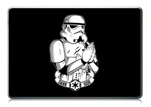 Наклейка на ноутбук - Macbook Pro (не Retina) - Молящийся Штурмовик