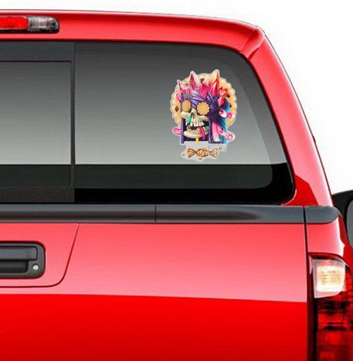 Dulce muerte - наклейки на авто