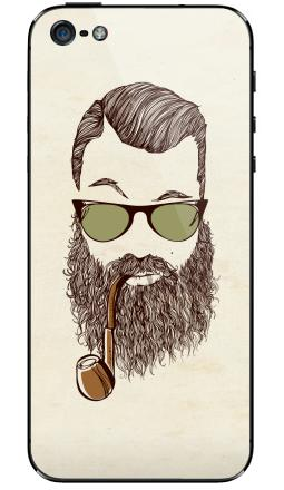 Наклейка на iPhone 5 - Верьте мне, у меня есть борода