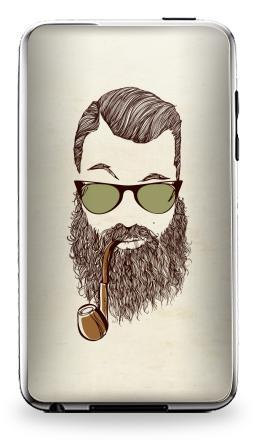 Наклейка на iPod Touch 3 - Верьте мне, у меня есть борода