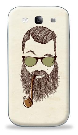 Наклейка на Galaxy S3 (i9300) - Верьте мне, у меня есть борода