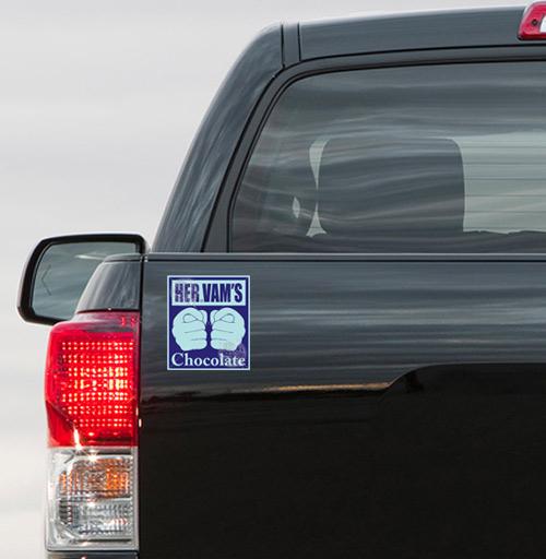 ШОКОЛАД - наклейки на авто