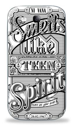 Наклейка на Galaxy S3 (i9300) - Нирвана