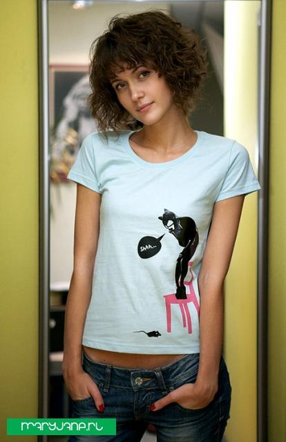 Catwoman - фото футболки