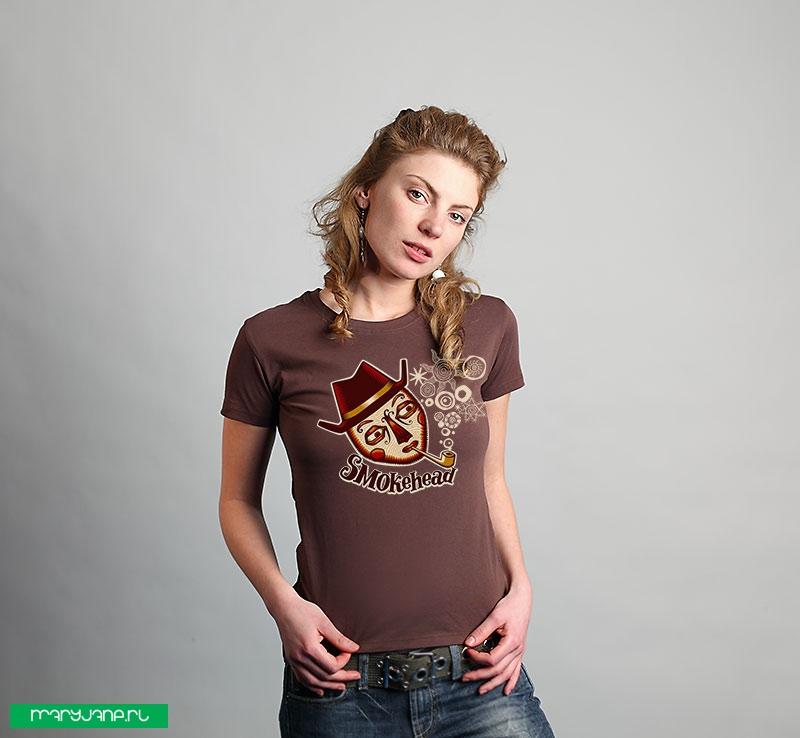 SmokeHead - фото футболки