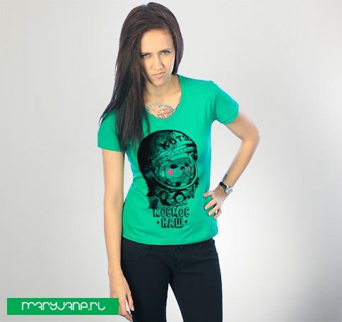 Котэ-космонафтэ - фото футболки