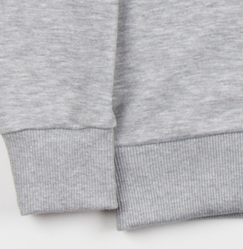 Толстовка Женская серый меланж 340гр, утепленная - Харизма