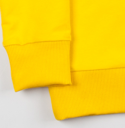 Cвитшот женский, желтый 240гр, тонкий - Харизма