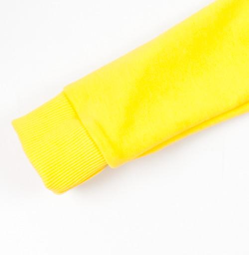 Cвитшот Детский желтый 240гр, тонкая - Old School